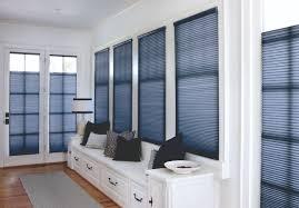 interior design glass window with horizontal bali blinds plus