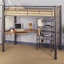 Loft Bunk Bed Desk Metal Bunk Bed With Desk Foter