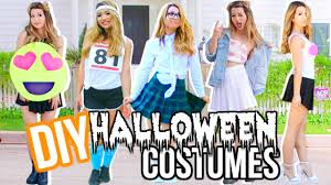 T Shirt Halloween Costumes Ideas Diy Last Minute Halloween Costumes Youtube