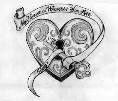 32 best heart tattoos images on pinterest design tattoos heart