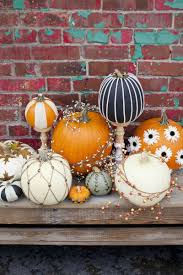No Carve Pumpkin Decorating Ideas 56 Brilliant No Carve Pumpkin Decoration Ideas U2013 Sortra