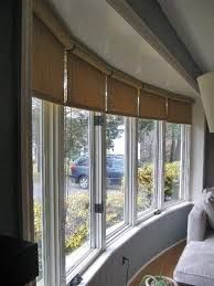 Kitchen Window Treatments Roman Shades - best 25 bow window treatments ideas on pinterest kitchen window