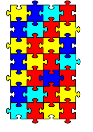autism awareness puzzle piece clipart 43