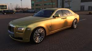 rolls royce phantom gold you can buy this gold rolls royce for just 14 bitcoin motoring
