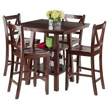 Dining Room Sets Orlando by 5 Piece Orlando Set High Table 2 Shelves With V Back Counter