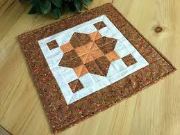 quilted square table toppers quilted orange square table topper handmade patchwork table runner
