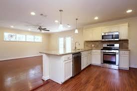 Open Concept Kitchen Living Room Small Space 4806 Mangum Houston Tx 77092 Har Com