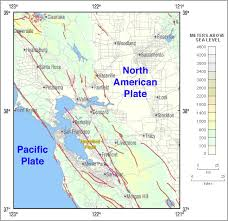 san francisco fault map hayward fault zone