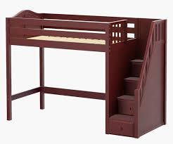 maxtrix star high loft bed with stairs bed frames matrix furniture