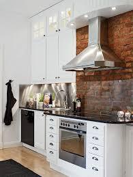 Kitchen Backsplash Brick Kitchen Kitchen With Brick Backsplash Cozy Together Fascinating