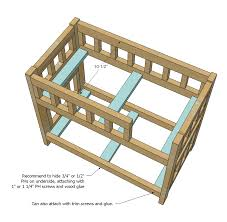 Woodworking Plans Loft Beds by Doll Bunk Bed Woodworking Plans Woodshop Plans
