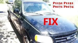 p1151 ford explorer ford f150 windstar p1131 p1151 p0171 p0174 plenum fix