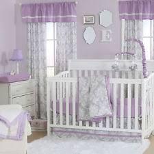 grey crib bedding ebay