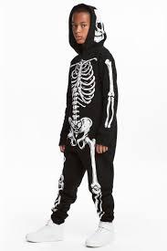 Skeleton Jumpsuit Sweatshirt Jumpsuit Black Skeleton Kids H U0026m Ca