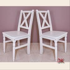 Esszimmer Set Ebay 2x Stuhl Küchen Sessel Set Holzstuhl Esszimmer Massivholz Weiß