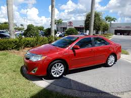 2013 used toyota camry hybrid 4dr sedan xle at royal palm toyota
