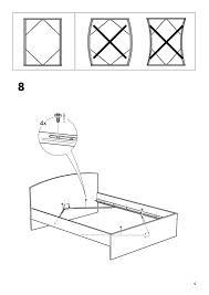 Assemble King Size Bed Frame Bed Frames Fjellse Frame Pine Luroy Ikea Leirvik Assembly