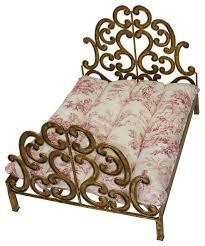lavish gold scroll fretwork dog bed antique vintage style pet