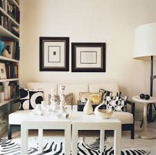 Decorating Inspiration Black  White Hooked On Houses - Black and white family room