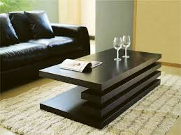 modern wood coffee table coffee tables decor contemporary table sets glass inside design 18