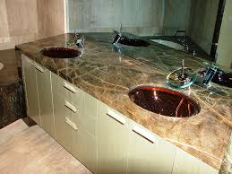marble and granite vanity tops pros and cons natural stone