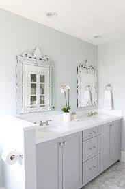 White And Gray Bathrooms Remodelaholic Color Spotlight Benjamin Moore Coventry Gray
