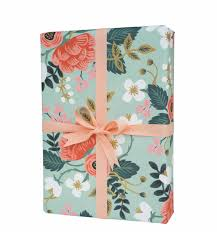 floral gift wrapping paper birch wrapping sheets by rifle paper co
