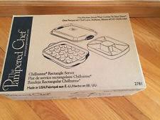 chillzanne products pered chef chillzanne rectangular server 2781 ebay