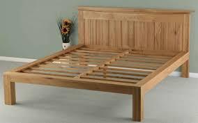 Wooden Framed Beds Popular Wooden Bed Frames With Regard To 4ft6 135cm Shaker