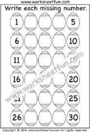 ordinal numbers 1 10 spring into easter worksheets ordinal