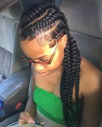 big cornrows 70 best black braided hairstyles that turn heads in 2018