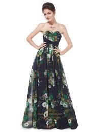 green floral print peplum midi dress women u0027s strpaless floral