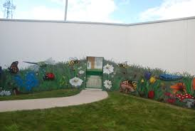garden mural rossie young people u0027s trust graffiti art workshop