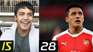 alexis sanchez early life transformation alexis sanchez from 3 to 28 years then and now