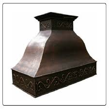 Sample Rustic Copper Linear Natural by Copper Range Hoods