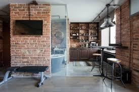 Exposed Brick Apartments Exposed Brick Creates A Soft Ambiance Decoholic
