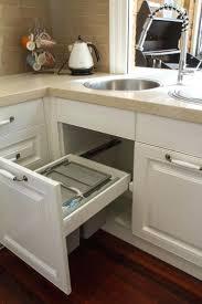 Kitchen Cabinet Trash Can 25 Best Under Sink Bin Ideas On Pinterest Under Sink Storage