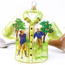 golf ornaments are gifts for golfers