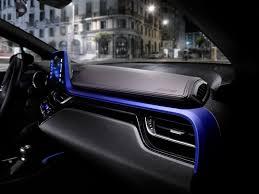 honda chr 2017 toyota c hr small crossover u0027s interior revealed w video