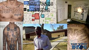 Blood And Crip Territory Map The Gangs Of Las Vegas Nevada Bloods Crips Surenos Nortenos