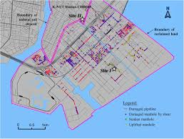San Francisco Liquefaction Map by Soil Liquefaction U2013induced Uplift Of Underground Structures
