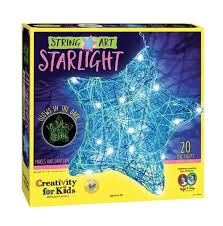 string art star light craft kit by creativity for kids 6113