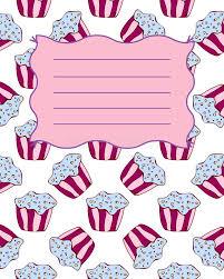 notebook cover postcard invitation template stock vector