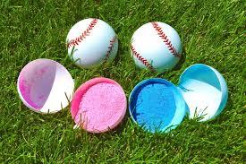 two gender reveal baseball gender reveal ideas baseball