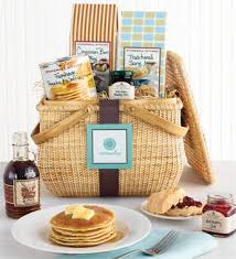 breakfast basket diy morning basket what a hostess or christmas gift
