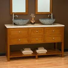 60 Bathroom Vanity Double Sink by 60