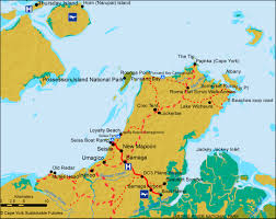 road map of york maps tourism cape york