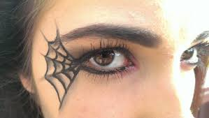 pretty halloween eye makeup spider web makeup youtube