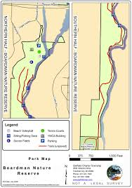 Matthiessen State Park Trail Map by Ati Consulting Northwestern Michigan Trail Guide For Hiking