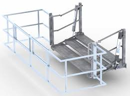 folding stairs tank truck tanker truck access ifc inflow